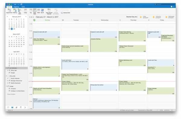 Google Calendar in Outlook