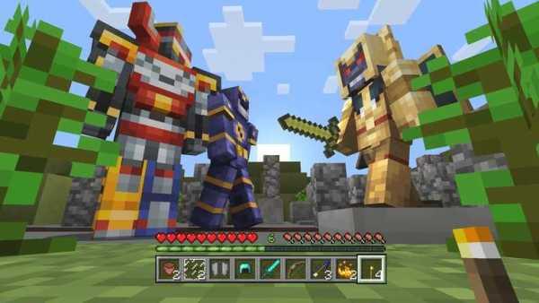 Minecraft Power Rangers Pack
