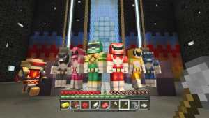 Minecraft Receives Power Ranger Pack