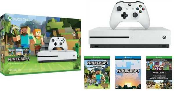 Minecraft Xbox One S Bundle