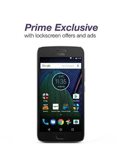 Moto G5 Plus Now Available at Just $185 with Amazon Ads