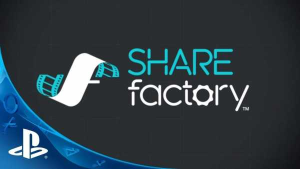 PlayStation 4 Sharefactory