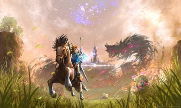 The Legend of Zelda Breath of Wild