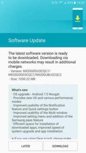 Samsung Galaxy Note 5 and Galaxy S5