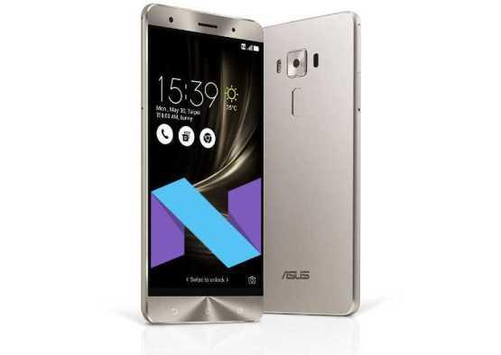 ASUS ZenFone 3 Deluxe Android 7.0 Nougat Update
