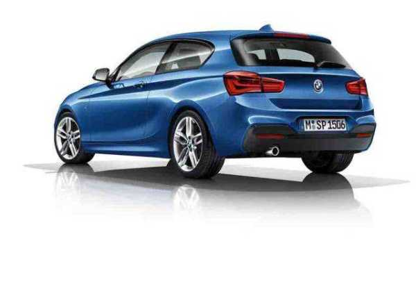2018 BMW 1 Series rear