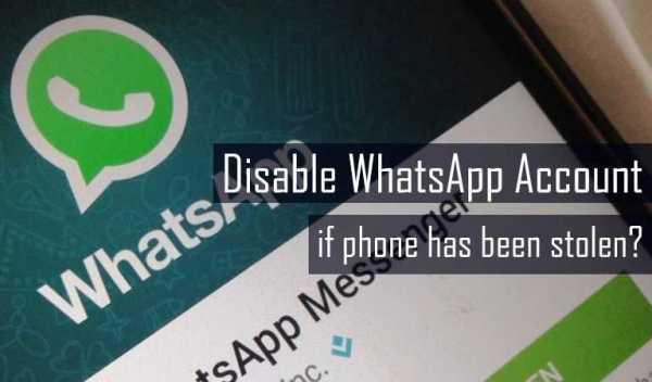 Deactivate WhatsApp Account on Lost Device