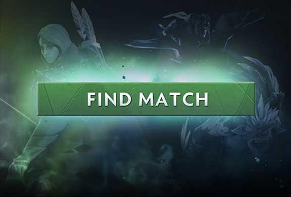 Dota 2 find match