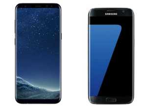Galaxy S8 Plus and Galaxy S7 Edge