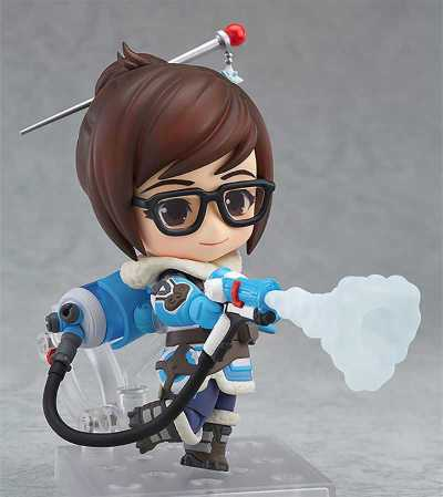 Overwatch Mei Cute Little Action