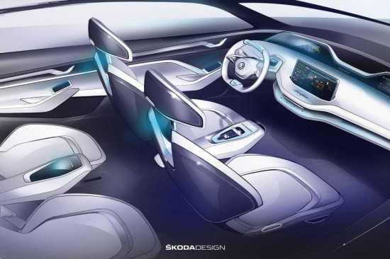 Skoda Vision E Concept Image