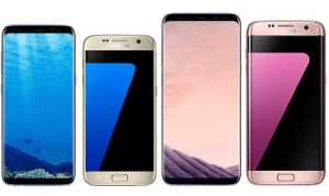 Samsung Galaxy S8+ vs Samsung Galaxy S7 Edge
