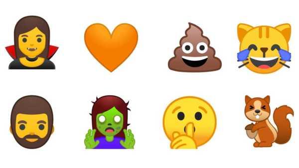 Android O Life-like Emojis