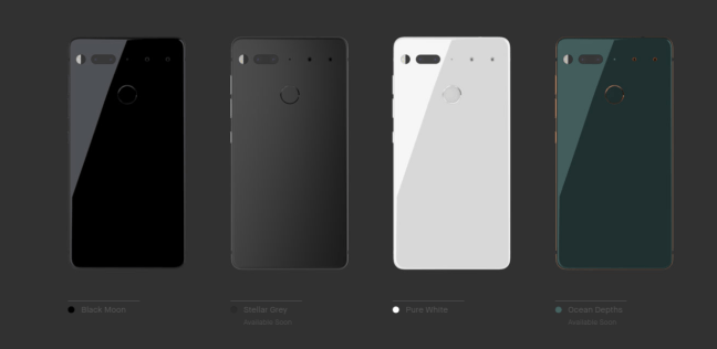 Essential Phone, Android Rubin