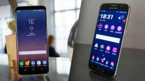 Samsung Galaxy S8 vs Samsung Galaxy S6