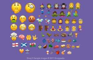 Android O New Emojis