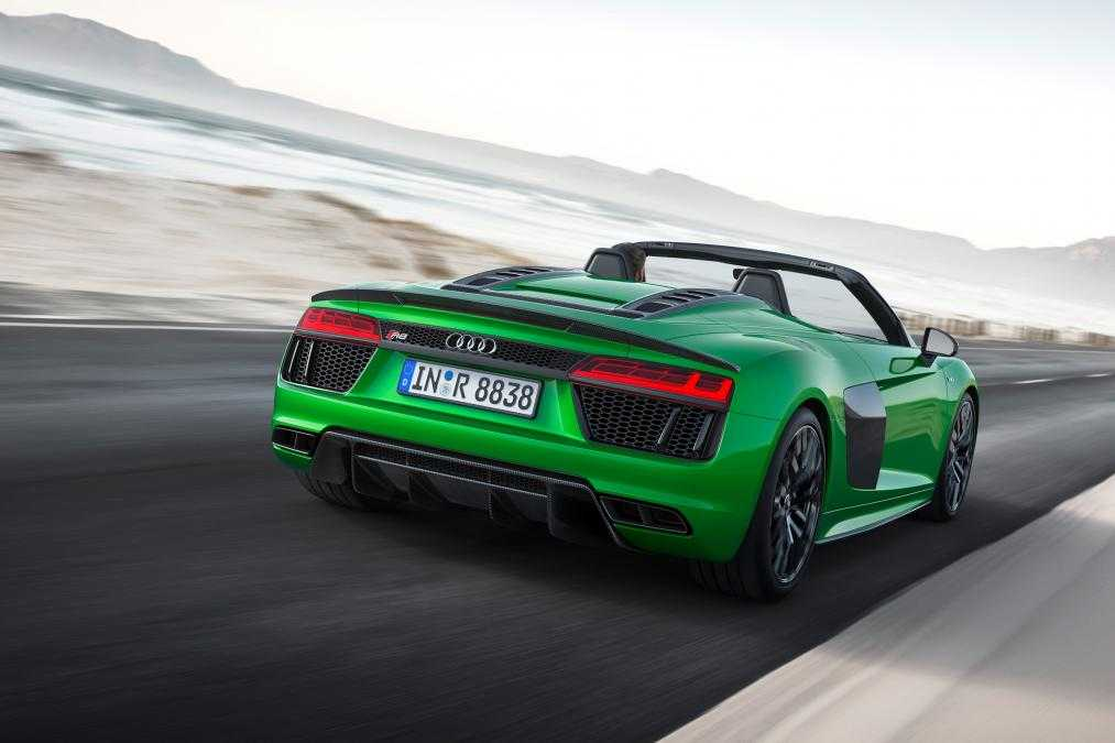 Audi R8 Spyder with V10 Plus Engine Delivers 602 hp and 204 mph Top ...