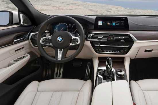 BMW 5 GT Interior