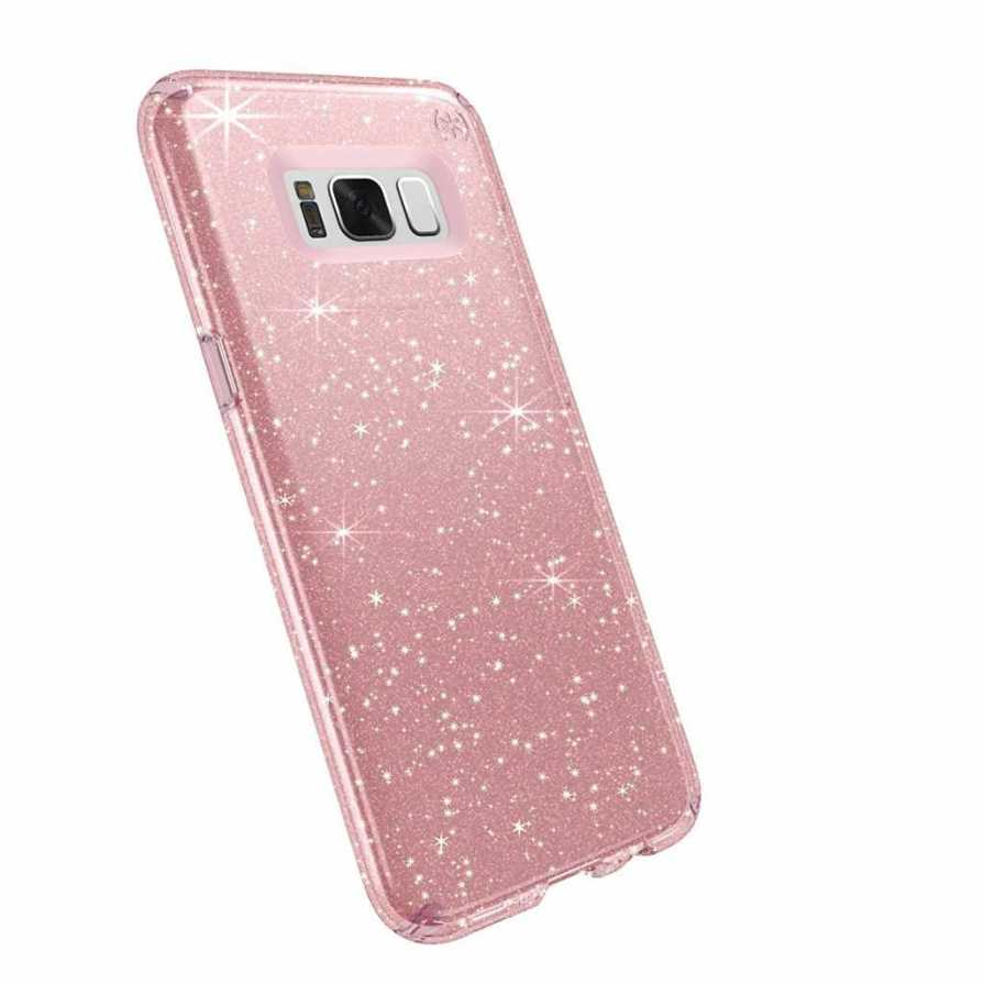 Galaxy S8 Plus Rose Pink With Gold Glitter