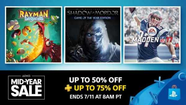 PS Store Mid-Year Sale