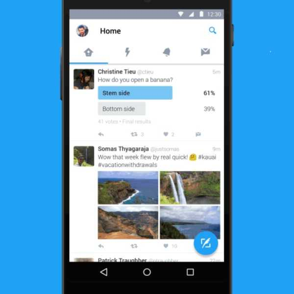 Twitter Automatically Switches to Night Mode on Android to