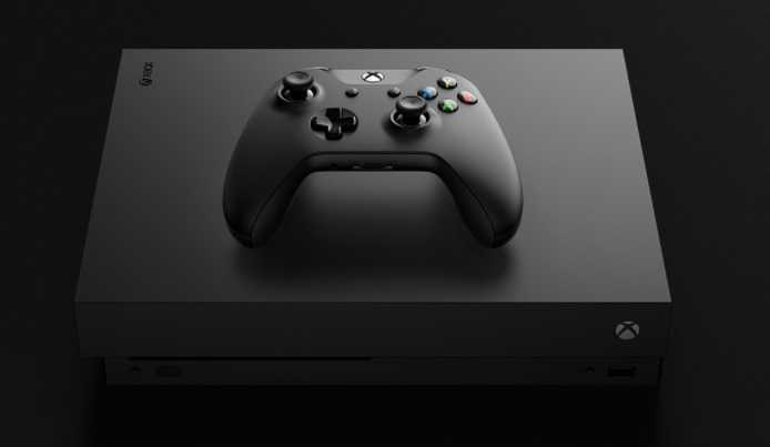 Microsoft unveiled its new console, Xbox One X