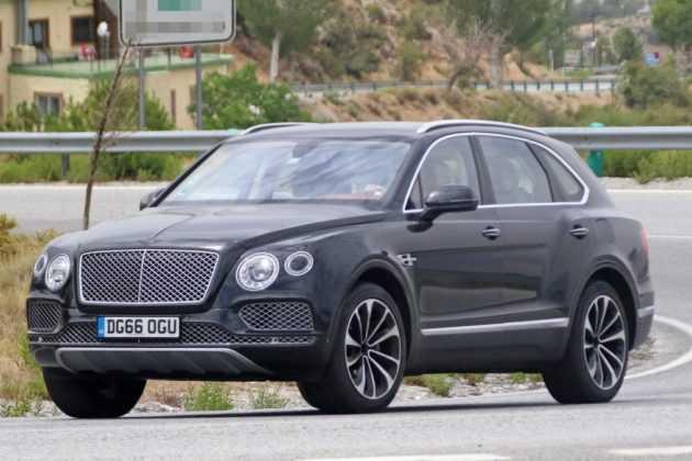 2019 Bentley Bentayga Plug-in Hybrid: Design, Powertrain >> 2018 Bentley Bentayga Plug In Hybrid Is Being Tested Spy