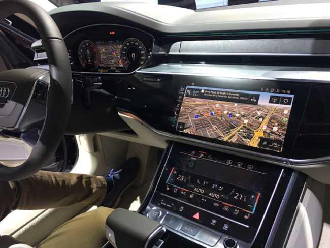 Audi nivida technology