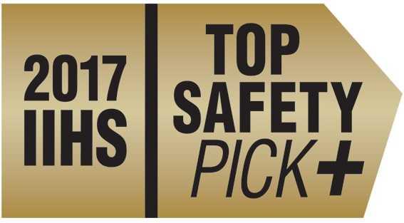 IIHS Safety Pick Plus 2017