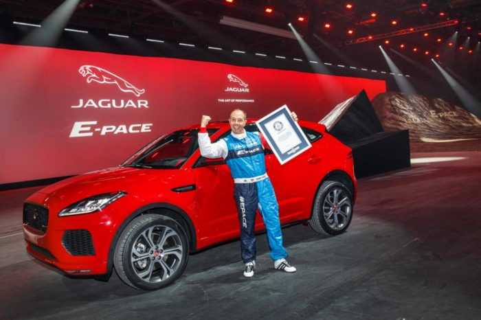 Jaguar E-Pace SUV new world record