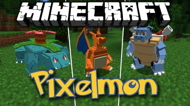 Pokemon Mod Pixelmon minecraft