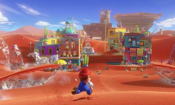 Super Mario Odyssey on Nintendo