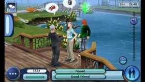 the Sims 3 mobile