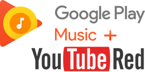 Google Play Music and YouTube Red