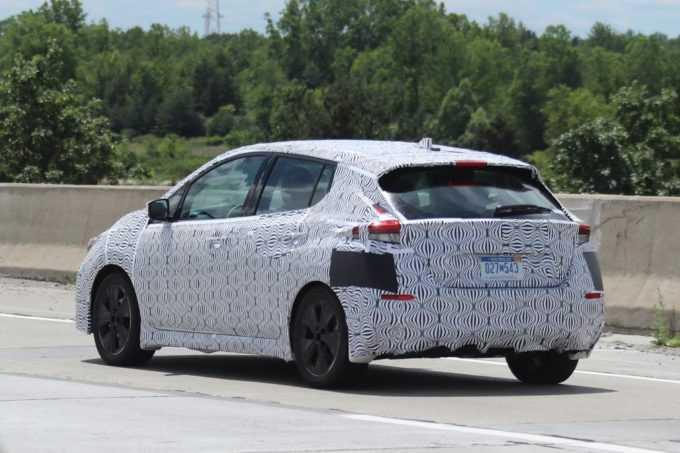 2018 Nissan Leaf new teaser
