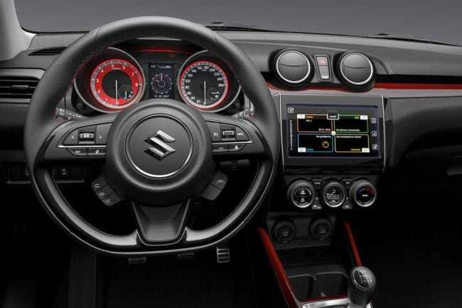 2018 Suzuki Swift Sport Interior