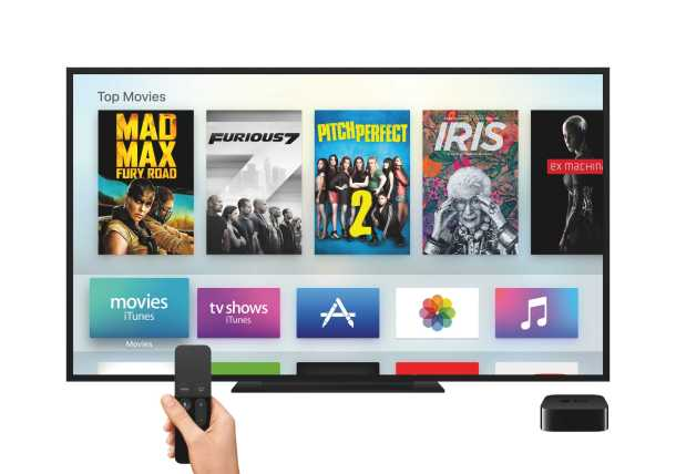 Apple TV with 4K HDR Support Debut