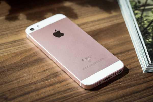 Apple iPhone se rear