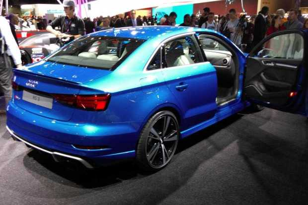 Audi RS3 Saloon rear