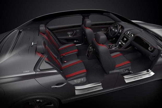 Bentley Flying Spur V8 S Black Edition interior