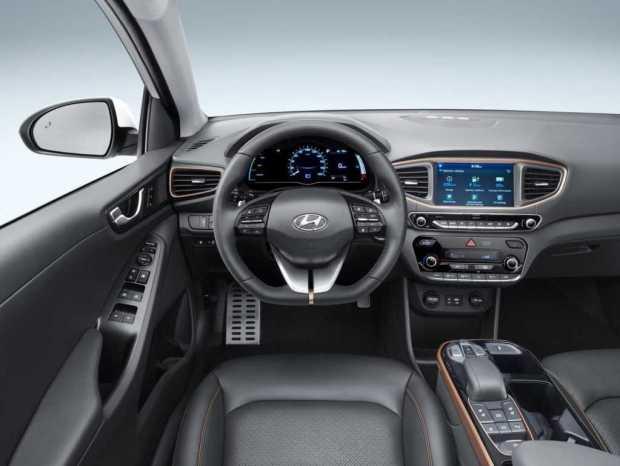 Hyundai electric car interior
