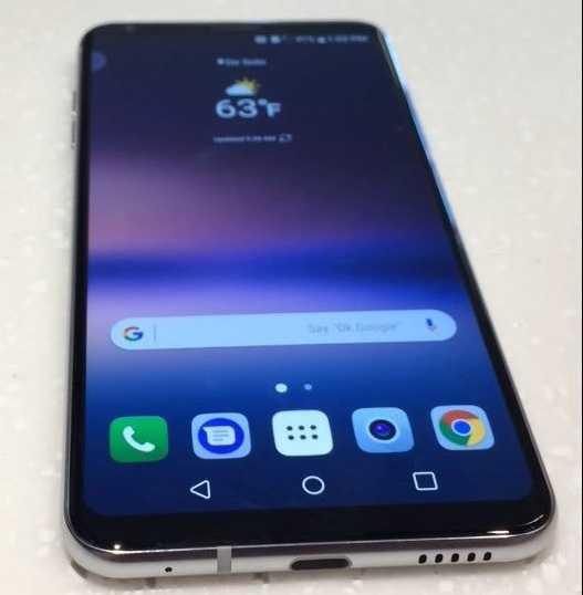 LG V30 Hi-Fi Quad DAC Audio