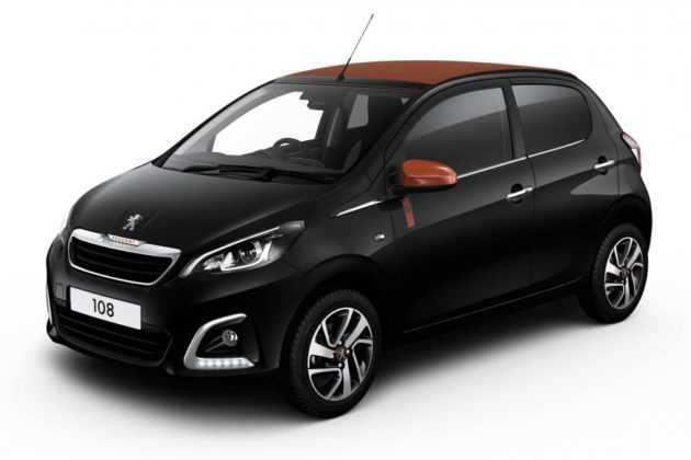 Peugeot 108 black
