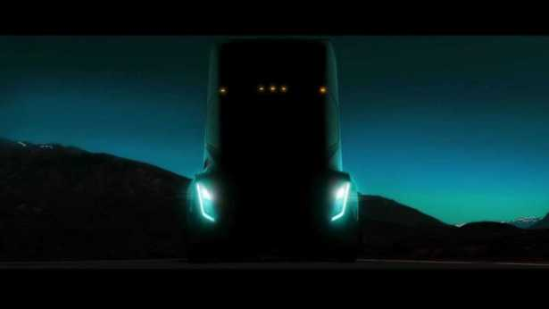 Tesla Electric Truck 300 Miles
