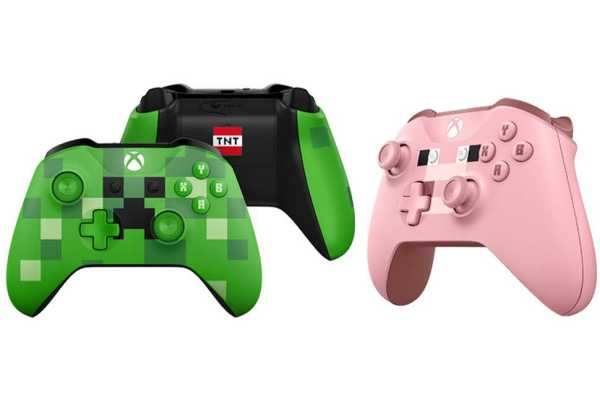 Xbox One S Minecraft Edition console