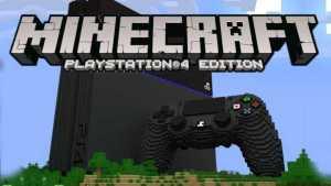 microsoft minecraft PS4