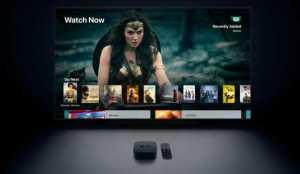 Apple TV 4k itunes
