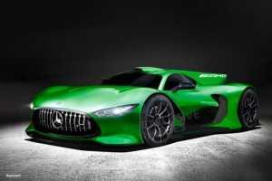 Mercedes AMG Hypercar look
