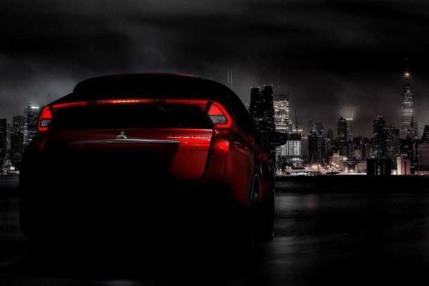 Mitsubishi Eclipse Cross rear