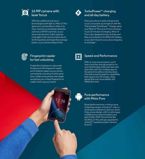 Moto G4 Plus spec